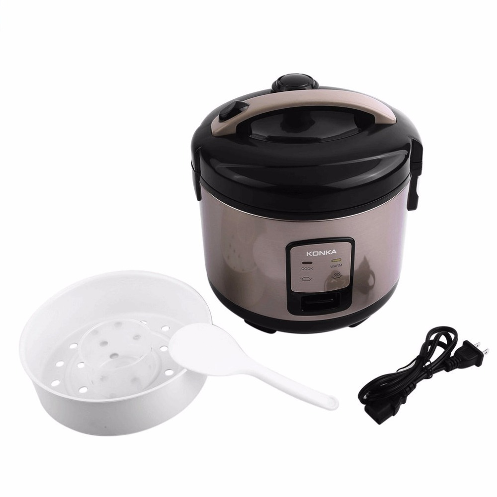 KONKA Smart Electric Rice Cooker 3L Heating Pressure Cooker Home Appliances for Kitchen 220V 50Hz 500W EU Plug For 3-4 People cukyi multi functional programmable pressure cooker rice cooker pressure slow cooking pot cooker 4 quart 900w stainless steel