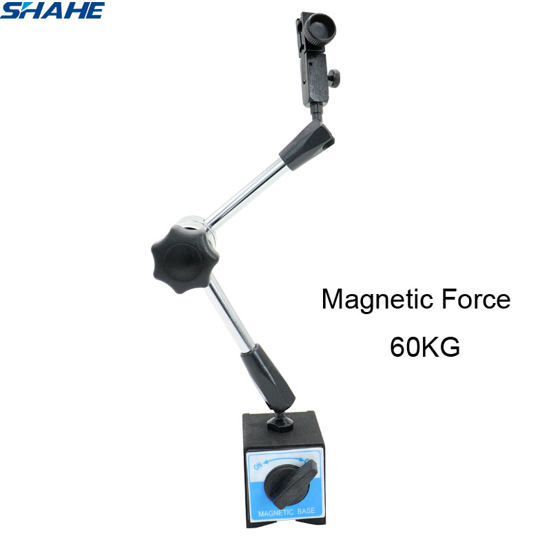 shahe Magnetic Flexible Base Holder For Level Dial Indicator Magnetic Force 60KG
