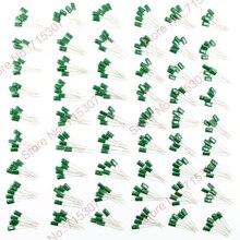 Пленочный комплект конденсаторов 54 значения х 5 шт 220PF-0,22 мкФ Ассорти Комплект конденсаторов 100-1000 V всего 270 шт полиэфирная упаковка конденсатора