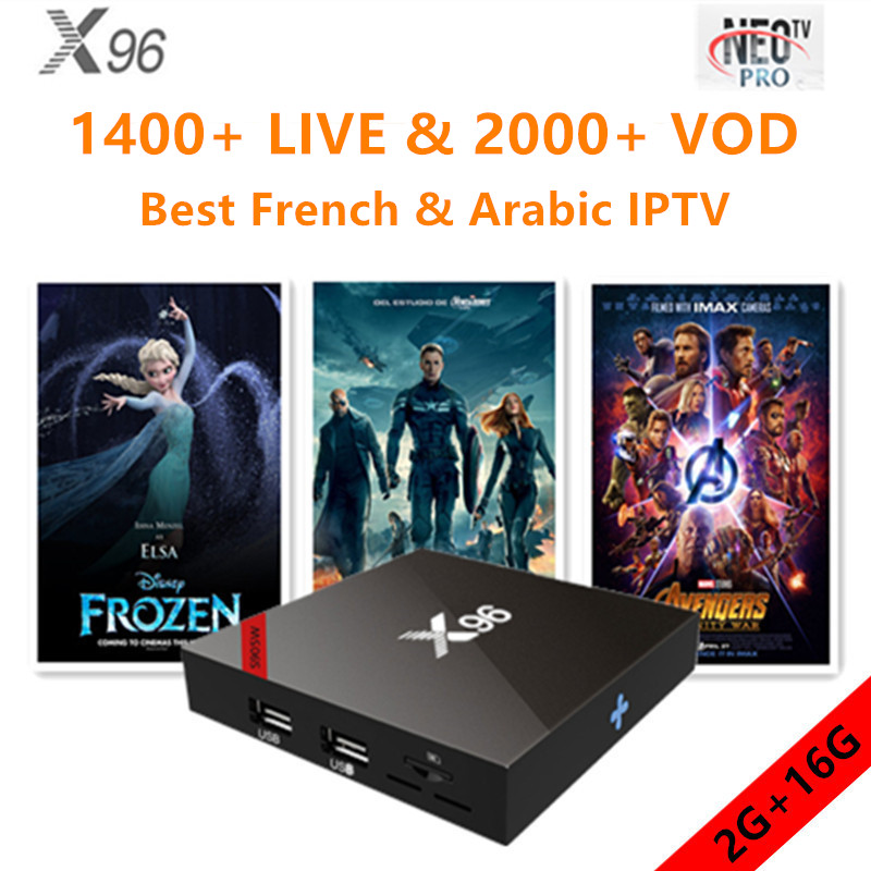 X96 Android tv box 7.1.2 for smart tv with neo iptv 1 year best french arabic belgium european qhdtv m3uX96 Android tv box 7.1.2 for smart tv with neo iptv 1 year best french arabic belgium european qhdtv m3u