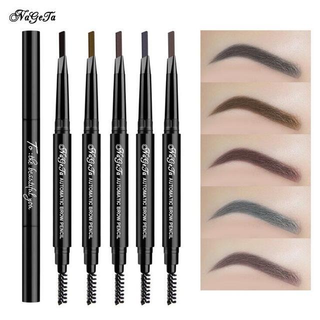 1 PC Women Waterproof Eye Liner Eyebrow Pen Pencil Eyebrow Eyeliner Makeup Cosmetic Beauty Tools 5 Colors 2