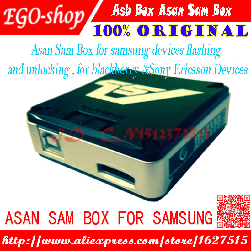 Boîte AsanSam gsmjustoncct/boîte ASB avec 2 câbles pièces pour Samsung NOTE 2 + flash + réparation + déverrouillage