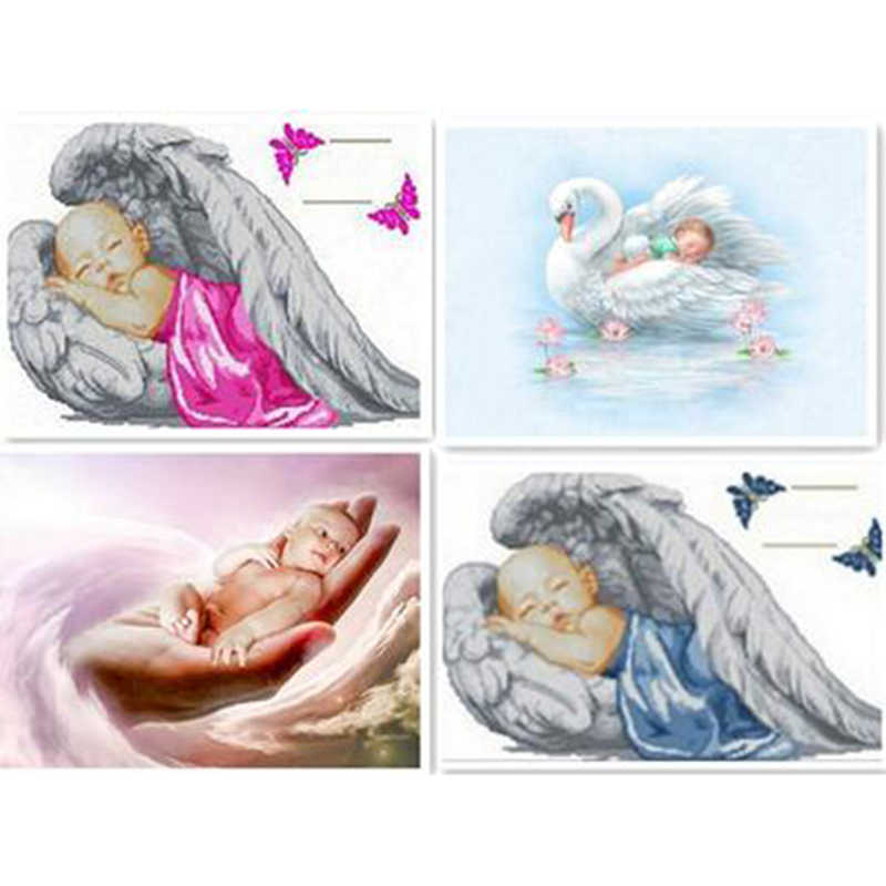 5D Diy Angel Baby Voller diamant-stickerei diamant kreuzstich diamant mosaik bilder von strass dekoration