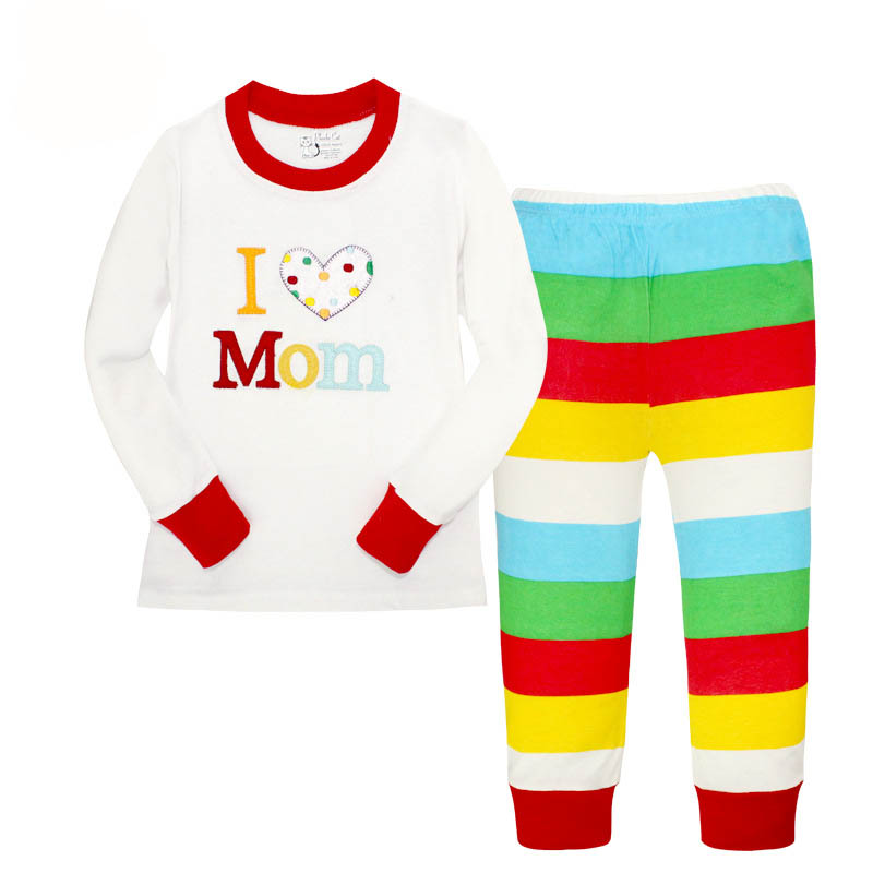 christmas kids pajamas children sleepwear baby pajamas sets boys girls animal pyjamas pijamas cotton nightwear pyjama enfant