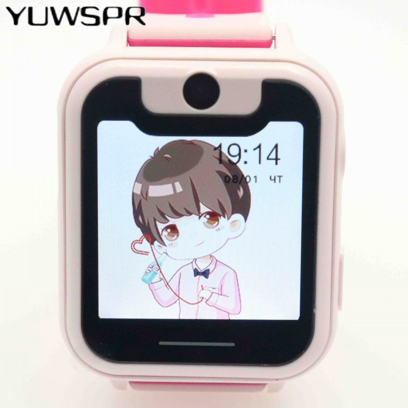 Children Watches Tracker Waterproof Clock Kids S6 1PCS Camera Location-Device Touch-Screen