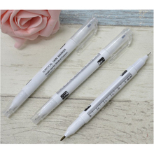 5 PCS Surgical Skin Marker For Eyebrow Tattoo Pen Tatoo Skin Sterile Ruler Double Heads Acupuncture Point Marking 1mm 0.5mm