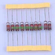 10pcs Carbon Composition vintage Resistor 0.5W 18K ohm 5 % цена