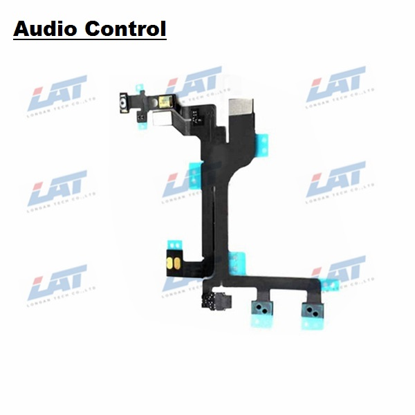 New Audio Control Cable Flex Cable  For iPhone 5C Repair Parts 1PCS