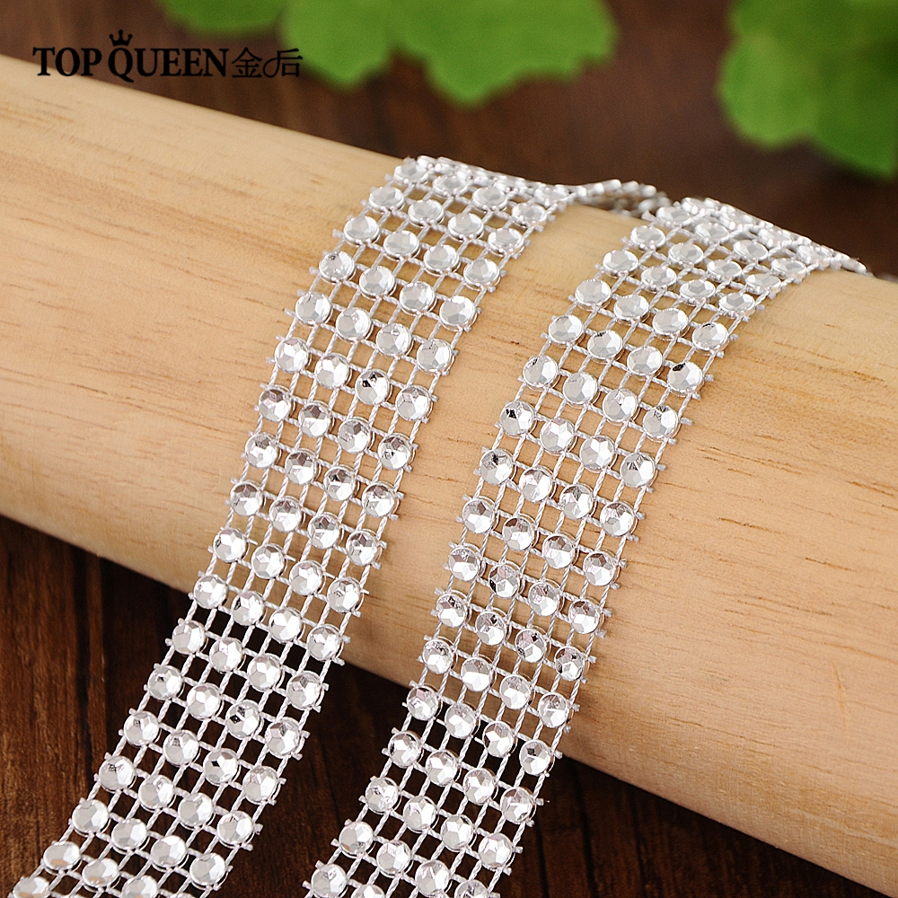 TOPQUEEN S19 Fast Delivery  Wedding Dress Sash Bridal Sash Belts Evening Dress Belts Wedding Accessories Marriage Belt Diamond