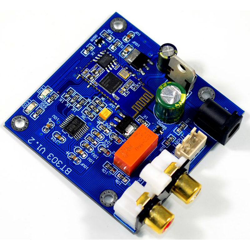 Image 3 - QCC3003 Bluetooth 5.0 Module With PCM5102 DAC Support A2DP ,AVRCP,HFP,AAC,I2S For Amplifier DC12V-in Amplifier from Consumer Electronics