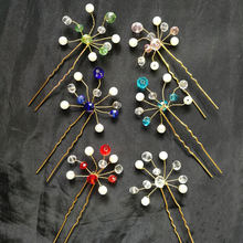 Свадебные аксессуары для волос подружки невесты свадебные шпильки