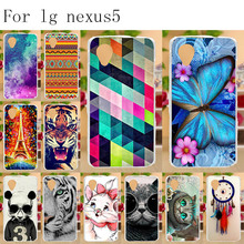 Anunob Phone Case For LG Google Nexus 5 Case Silicone Soft TPU Cover For LG Google Nexus 5 E980 D820 4.95 inch Nexus5 D821 Bag mi a lychee grain style protective pu leather plastic case for google nexus 5 lg e980 white