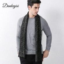 Dankeyisi новые модные теплые Для мужчин шарф bandanan утолщаются Для мужчин шарф воротник зима Шарфы для женщин мужской Бизнес Повседневное Для мужчин Шарфы для женщин