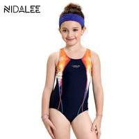 Cute Baby Girl Swimwear One Piece Swimsuit Girls One Piece Swimwear Children Swimming Suit Kid Bathing