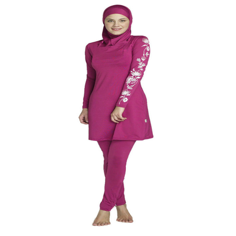 01e8b374193 muslim swimwear female bathing suit two piece swimsuit for women plus size muslim  swimming beachwear 2016 new Islamic Swimsuit - SohojShopping.com