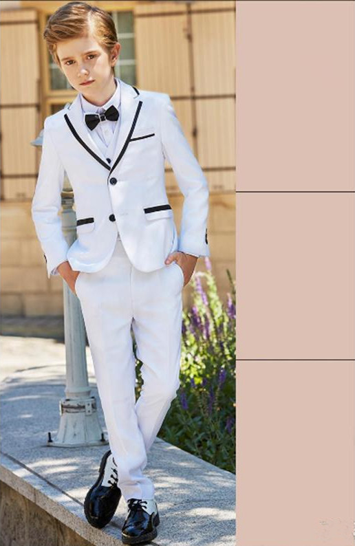 2019-new-fashion-white-boy-formal-wear-notch-lapel-boy-kid-clothes-for-wedding-birthday-party-(jacket+pants+bow+vest) (1)