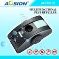 AOSION de pragas multifuncional controle eletromagnético waves+anion+ultrasonico com LED luz noturna mosquitos mouse repeller ratos
