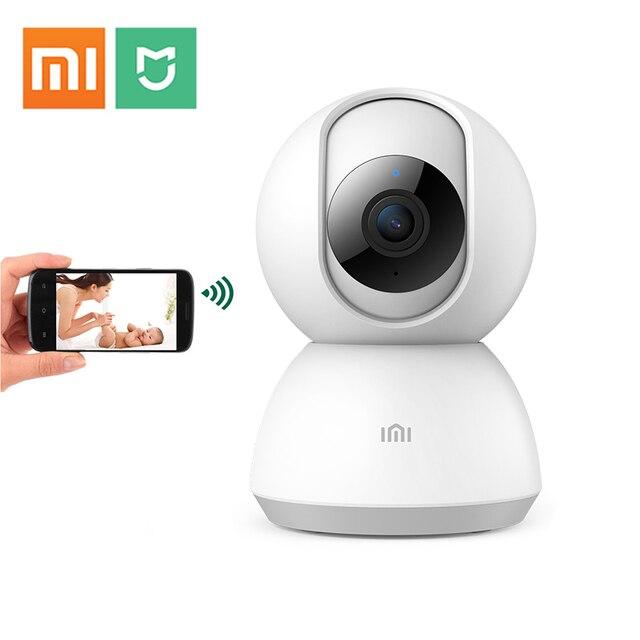 Xiaomi Mijia Mini Camera Wifi 1080 P Không Dây Gia Camera An Ninh IP Hai Chiều Giám Sát Trẻ Em Thông Minh Chảo Nghiêng HD HỒNG NGOẠI Xem Đêm