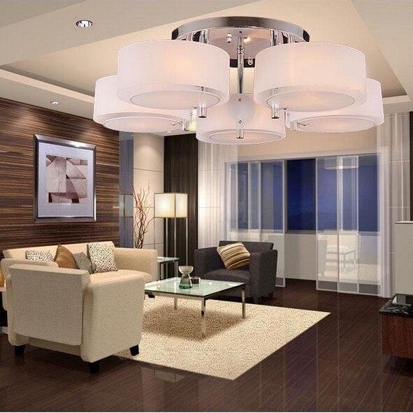 Mode Acryl LED plafondlamp moderne korte woonkamer licht slaapkamer ...