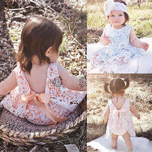 Baby Girl Children's Clothing Summer style girls lace vest Tops + Briefs sets new 2016