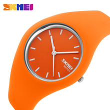 Women Colorful Jelly Watch Men Rubber Band Relojes Quartz Wirstwatch 30M Waterproof Sports Watches