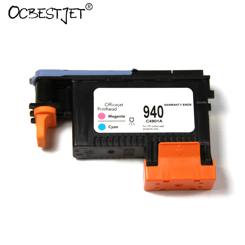 2 Pieces For HP 940 Original Printhead For HP Officejet Pro 8000 8500 A809a A809n A811a A909a A909n A909g A910a (C4900A C4901A)