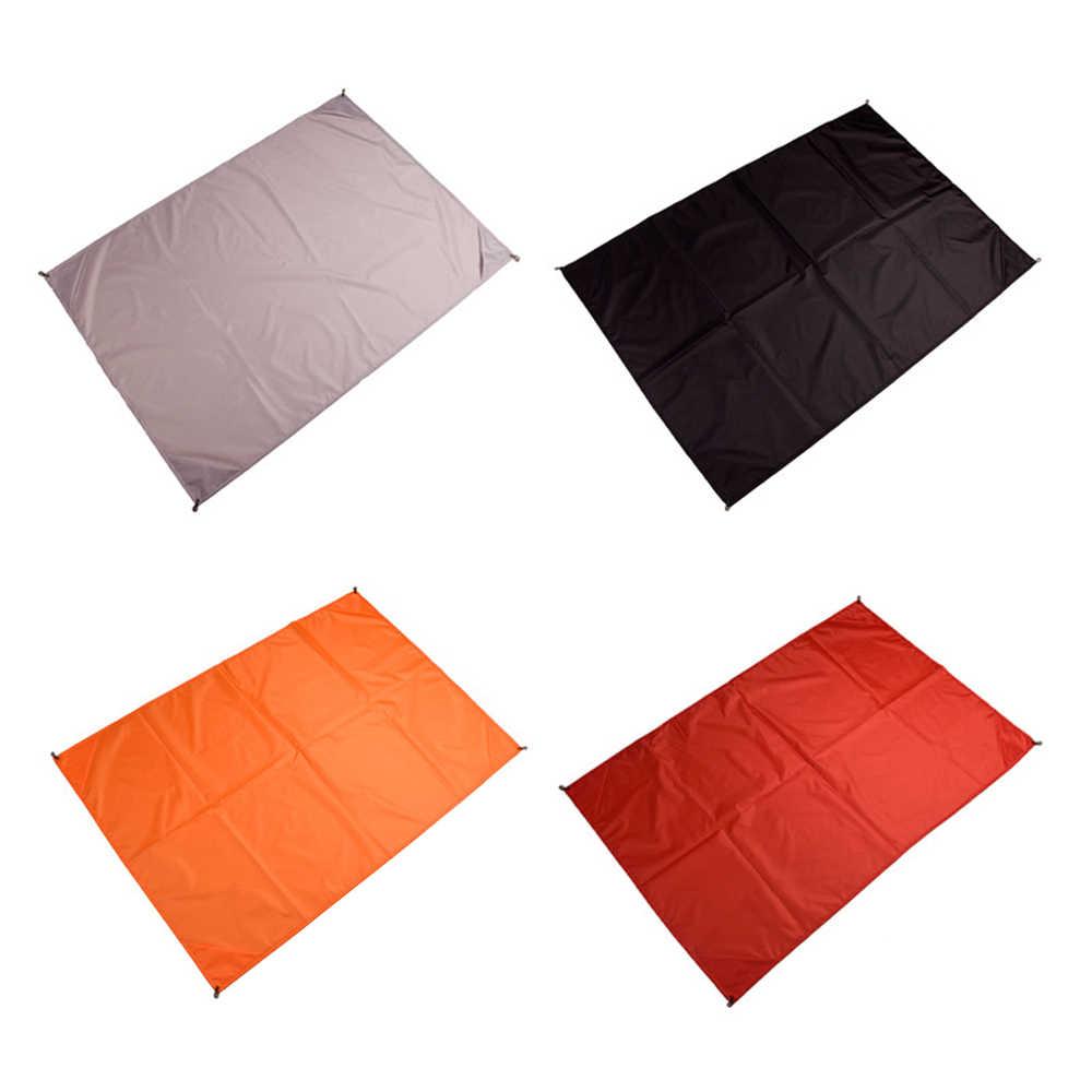 Складной туристический коврик матрас пляжные Одеяло Водонепроницаемый коврик для пикника почвопокровные Пеший Туризм путешествия спальная кровать Pad с мешком