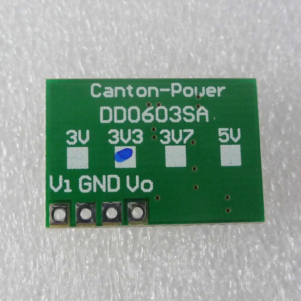 2 шт. Авто Buck-Boost DC преобразователь напряжения Регулятор модуль 0,9-6 В до 3,3 В для 18650 солнечного зарядного устройства li lion батарея