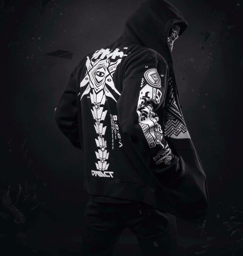 Men Hoodie Sweatshirt Tracksuit Jacket (4)