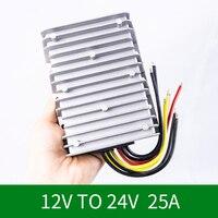 12V to 24V 25A DC DC Boost Module12Volt Step up 24Volt DC DC Converter Voltage Regulator Power Supply for Cars CE RoHS