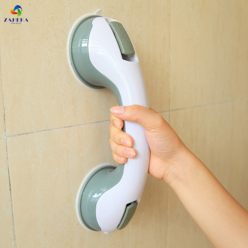 Powerful suction cup safety armrest free punching bathroom bathtub elderly skid handle glass door and window handle