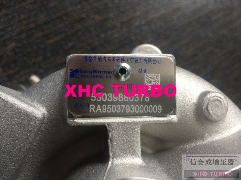 GJENUINE E RI K03 / 5303 970 0378 0375R9 Turbocharger për Citroen - Pjesë këmbimi për automjete - Foto 2