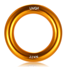 Lixada High Quality 22KN Rock Mountain Climbing O-ring Aluminum Rappel Ring Outdoor Hammock  Safety Rescue Gear