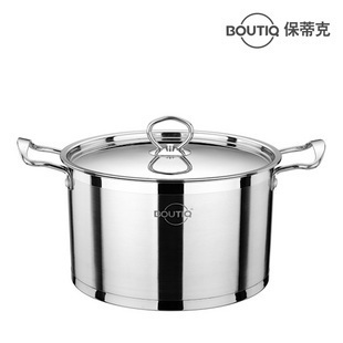 22cm stainless steel soup pot electromagnetic furnace gas cooktop general