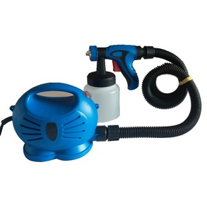650W Airbrush with Compressor Airless Paint Sprayer HVLP LVLP Electric Spray Gun For Painting Cars wall furnature(China)