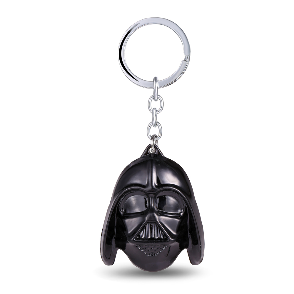 MS JEWELS Hot movie Star Wars Darth Vader Mask Keychain Alloy Metal Key Rings Chaveiro can Drop-shipping