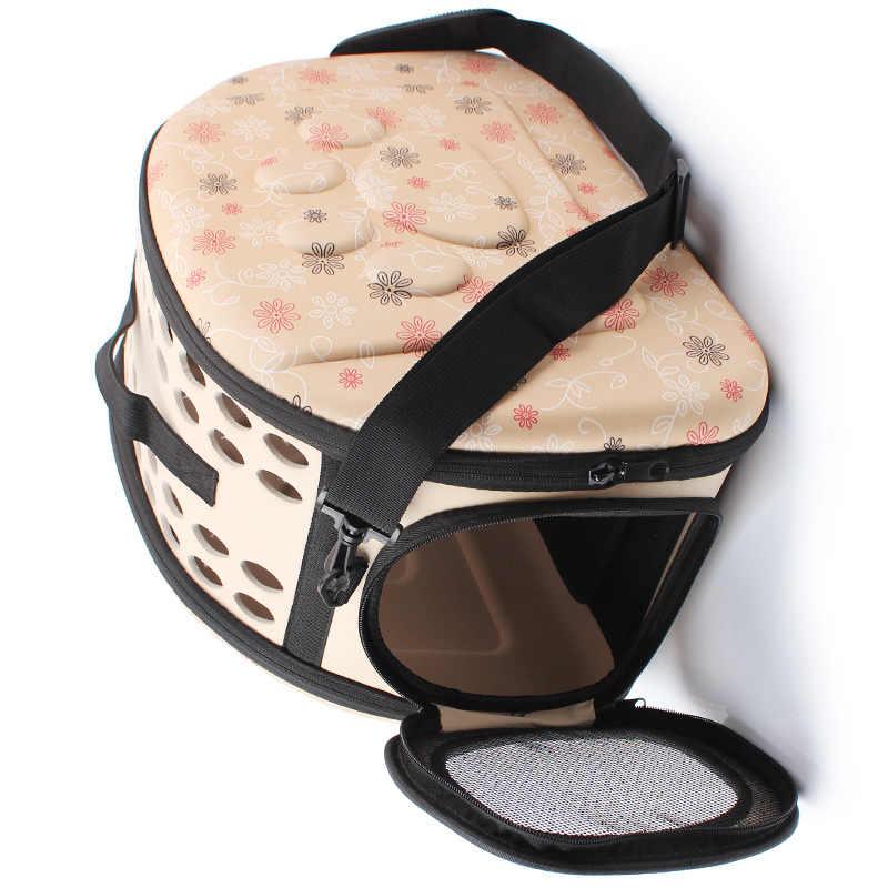 YUYU кошачья переноска для собак на открытом воздухе сумка-переноска складной из ЭВА Pet Конура для щенка собаки кошки на открытом воздухе Дорожная сумка на плечо для маленькой собаки