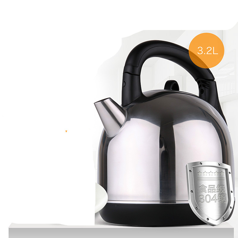 Electric kettle automatic power off household 304 stainless steel kettles Safety Auto-Off Function electric heating kettle household 304 stainless steel fast automatic power safety auto off function