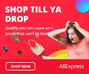 AliExpress ad banner