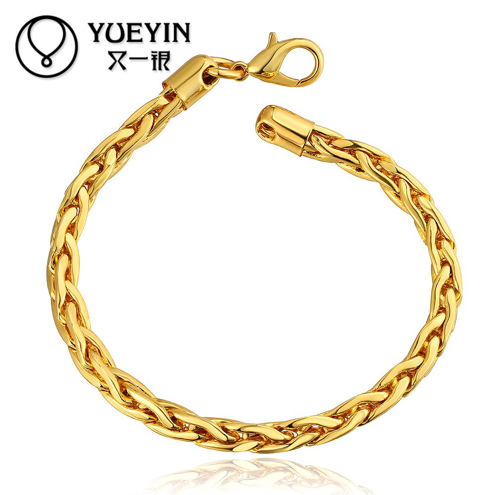 B088 New Arrival Fashion Designer bijoux 18k Gold Plated bracelet ...