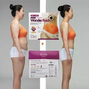 Патч Mymi Wonder для быстрого похудения, 30 дней, пластырь для похудения живота, сжигание жира в пупке, инструмент для похудения