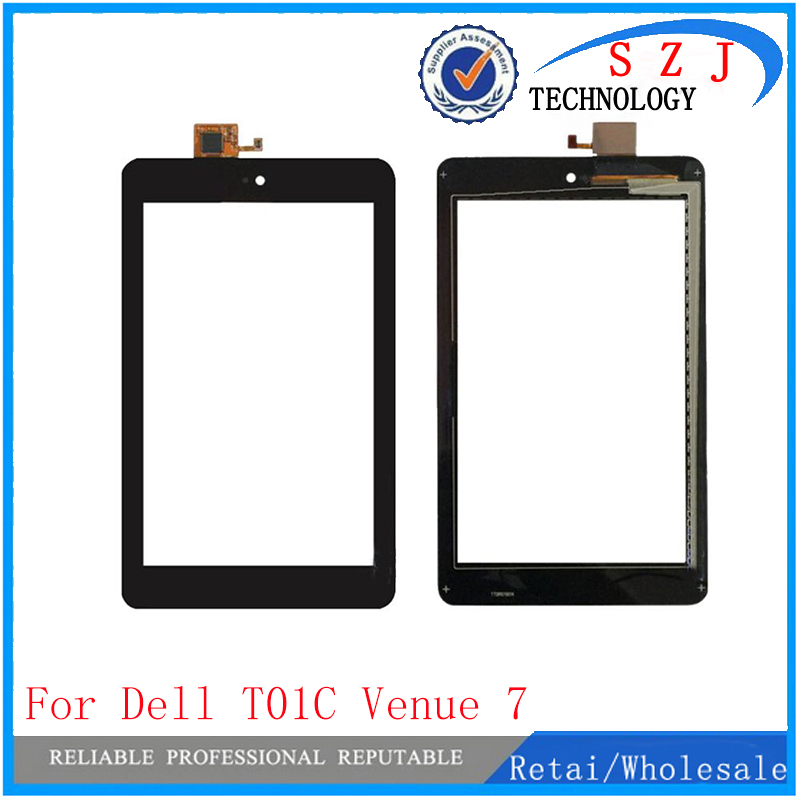 New 7'' inch Case Touch Screen With Digitizer Panel Front Glass FOR Dell T01C Venue 7 3730 free shipping