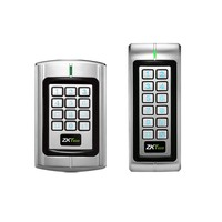 Waterproof metallic keypad rfid reader wiegand 26/34 output for access control system