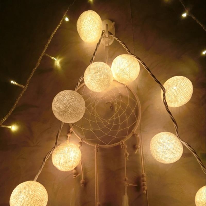 5m 28LED lampu tali garland hangat, AC110V / 220V, cahaya lampu tali - Pencahayaan perayaan - Foto 2