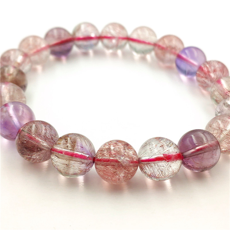 Natural Super 7 Melody Quartz Bracelet (5)