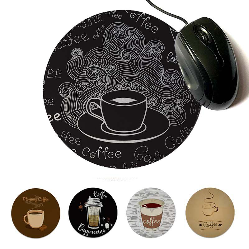 MaiYaCa Would Like A Cup of Coffee Cool High Speed New Mousepad 20x20cm 22x22cm diameter round mouse pad