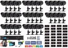 32CH AHD DVR Kit Home Security CCTV Camera System W/ 32x HD 960P AHD Camera Home Surveillance System & 1x ONVIF DVR &1TB HDD