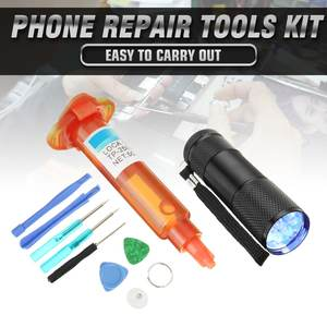 Replacement Repair-Tools-Kit Lcd-Screen Led-Light LOCA Glue Glass 5g UV Torch Bearer