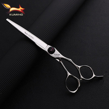 KUMIHO top quality cobalt hair scissors VG10 hairdressing Japan cutting and thinning set free shipping