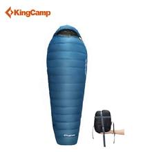 KingCamp Camping Lazy Bag Mummy Down Sleeping Bag 3 season Ultralight Portable for Camping,backpacking